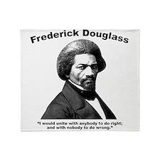 Douglass: Unite Throw Blanket