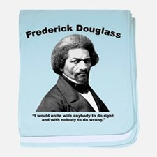 Douglass: Unite baby blanket