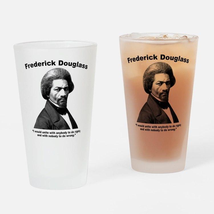 Douglass: Unite Drinking Glass