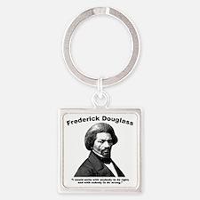Douglass: Unite Square Keychain