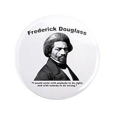 """Douglass: Unite 3.5"""" Button"""