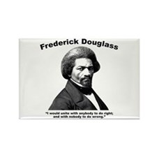 Douglass: Unite Rectangle Magnet