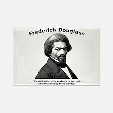 Douglass: Unite Rectangle Magnet
