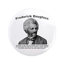 """Douglass: True 3.5"""" Button"""