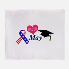MAY Throw Blanket