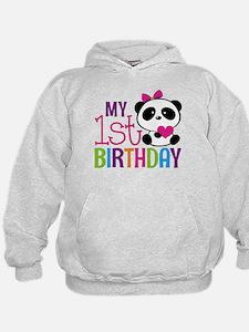 Panda 1st Birthday Sweatshirt