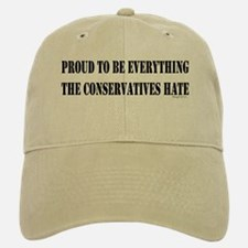 Everything Conservatives Hate Baseball Baseball Cap