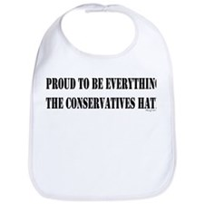Everything Conservatives Hate Bib