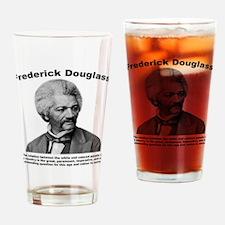 Douglass: Question Drinking Glass