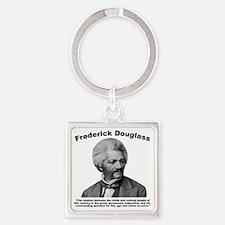 Douglass: Question Square Keychain