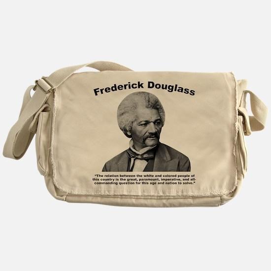 Douglass: Question Messenger Bag