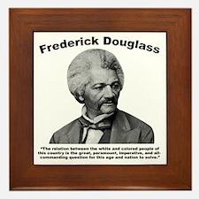 Douglass: Question Framed Tile