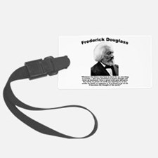 Douglass: Progress Luggage Tag