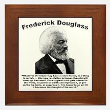 Douglass: Progress Framed Tile