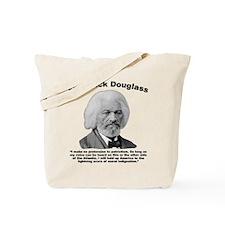 Douglass: Patriotism Tote Bag