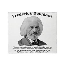Douglass: Patriotism Throw Blanket