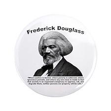"""Douglass: Class 3.5"""" Button"""