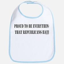 Everything Republicans Hate Bib