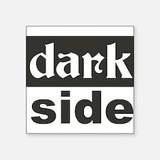 """Cute Dark Square Sticker 3"""" x 3"""""""