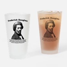 Douglass: Justice Drinking Glass