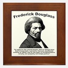 Douglass: Justice Framed Tile