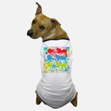 Paint Splatter Dog T-Shirt