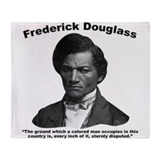 Douglass: Ground Throw Blanket