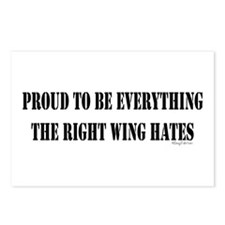 Everything Right Wing Hates Postcards (Package of