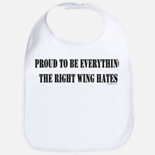 Everything Right Wing Hates Bib