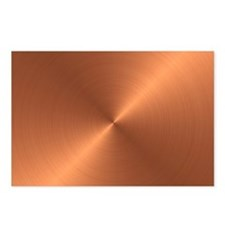 10x10_apparel-Copper Postcards (Package of 8)