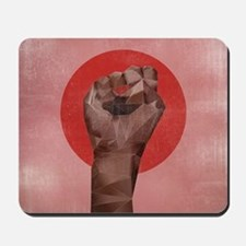 Black Herstory Pink Mousepad