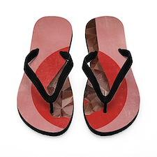 Black Herstory Pink Flip Flops