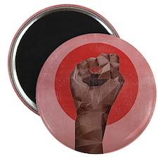 Black Herstory Pink Magnet