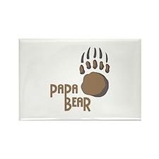 BEAR PAW PAPA Magnets