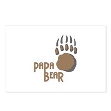 BEAR PAW PAPA Postcards (Package of 8)