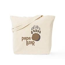 BEAR PAW PAPA Tote Bag