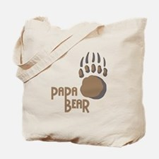 BEAR PAW PAPA Tote Bag