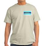 True Blue South Dakota LIBERAL Ash Grey T-Shirt
