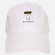 proud marine mom Baseball Baseball Cap