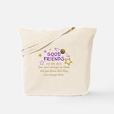 GOOD FRIENDS Tote Bag