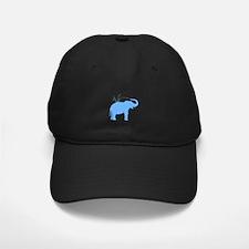 Jolly Blue Elephant Baseball Hat