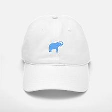 Jolly Blue Elephant Baseball Baseball Cap