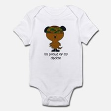 i'm proud of my daddy Infant Bodysuit
