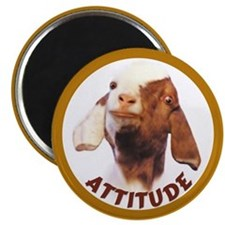 "Unique Goat 2.25"" Magnet (10 pack)"