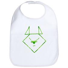 Green Anime Mouse Bib