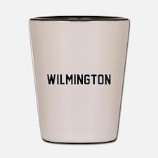 Funny Wilmington north carolina Shot Glass