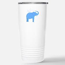 Jolly Blue Elephant Travel Mug