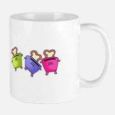 DANCING TOASTERS Mugs