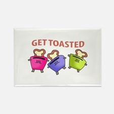 GET TOASTED Magnets