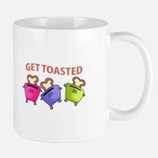 GET TOASTED Mugs